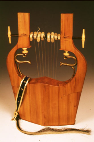 Modern version of the lyre